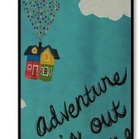 Hot Cartoon Up--Adventure Is Out There Durable Hard PC Case Cover For iPhone 4/4S By BeautifulHeaven