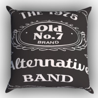 The 1975 alternative band logo Zippered Pillows  Covers 16x16, 18x18, 20x20 Inches