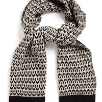 BLACK AND WHITE PATTERN SCARF - New This Week  - New In