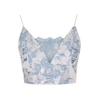 Limited Edition Lace Bralet - Blue