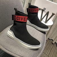 GIVENCHY Women Men Casual Shoes Boots