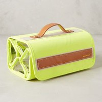 Airglow Hanging Cosmetic Case by Boulevard Yellow All Bags
