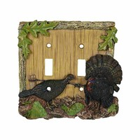 River's Edge Double Switch Cover - Turkey