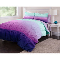 Walmart: your zone bedding comforter set, ombre