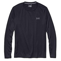 Men's UA Tech™ Long Sleeve T-Shirt in Black by Under Armour