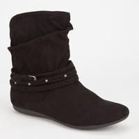 Report Elson Womens Boots Black  In Sizes