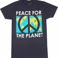 Buy Peace for the Planet Tee Hugger T-Shirt Tee Shirt Online