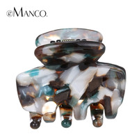 Small claw hair clips acetate colorful clips claw exquisite acrylic hair jewelry 2015 mini hairs claw clamp clip hairpins eManco