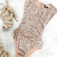 Casual Sexy Sparky One Piece Swimsuit