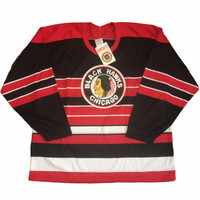 NWT Chicago Blackhawks CCM Vintage Jersey
