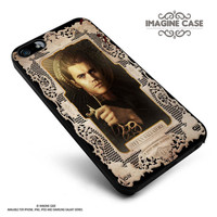 VAMPIRE DIARIES STEFAN SALVATORE PAUL case cover for iphone, ipod, ipad and galaxy series