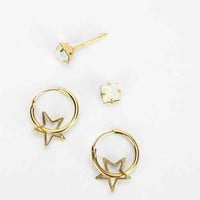 Charming Hoop Earring Set-