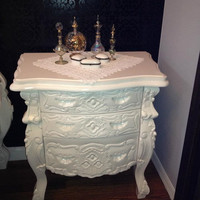Fabulous and Baroque — Fabulous & Rococo Side Table - White Lacquer - Client Photo