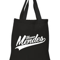 "Shawn Mendes ""Shawn Mendes Logo"" 100% Cotton Tote Bag"