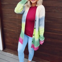 Color My World Cardigan: Multi