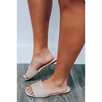 RESTOCK: Off My Game Sandals: Natural