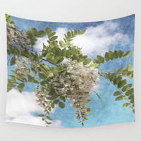 Flowers I Wall Tapestry by VanessaGF