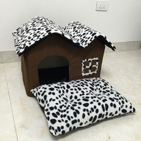 Waterproof Cotton Litter At The Bottom Of The Dog Kennel Cat Litter Than Bear Teddy  Dog House Dog Bed 160309-16