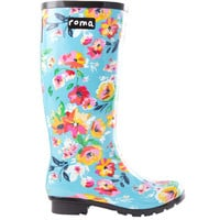 ROMA Emma Floral Women's Rain Boots