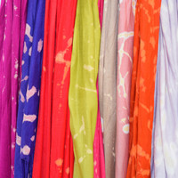 Pick Your COLOR Scarf Fringe Spatter Print Scarves Customizable In Every Color