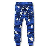 Star Cotton Joggers