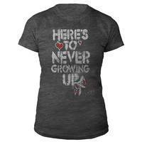 Avril Lavigne Official Store   Here's To Never Growing Up Burnout Tee