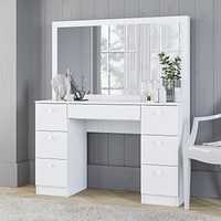 Aspro Chróma table with drawers - Vanity