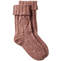 Cable Bed Socks