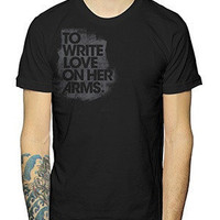 To Write Love on Her Arms Official Online Store - Stencil Title Shirt