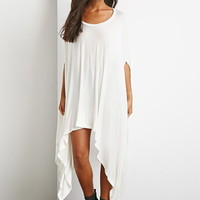 Oversize Draped Poncho Top