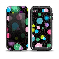 The Neon Colorful Stringy Orbs Skin for the iPod Touch 5th Generation frē LifeProof Case