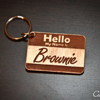 """Personalized Pet Engraved ID Tag - """"Hello My Name is.."""" for pets"""