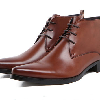 Lace Up Boots For Men