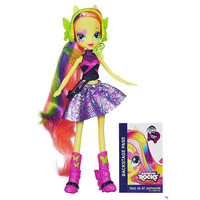 LicensedCartoons.com: My Little Pony Equestria Girls Fluttershy Doll (Rainbow Rocks)