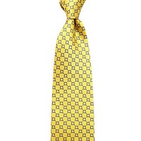 Pi Kappa Phi Neck Tie in Yellow by Dogwood Black