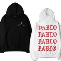 The Life Of Pablo Kanye West pullover hoodies for men/women long sleeve hooded hip hop autumn casual top sweatshirts S-XXXL