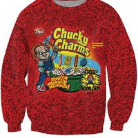 Chucky Charms Crewneck Sweater