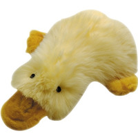 """Multipet Duckworth Webster Yellow Plush Filled Dog Toy 13"""""""