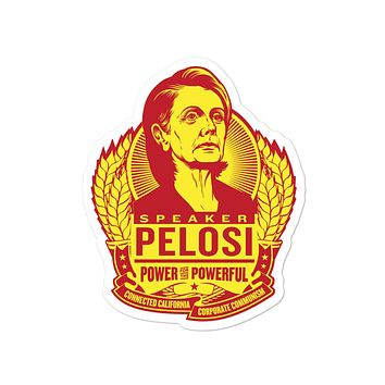 Pelosi Power for the Powerful Sticker