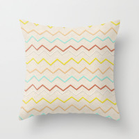 the beauty of a ride Throw Pillow by spinL