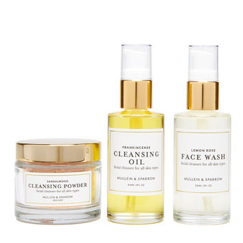 Face Cleansing Trio