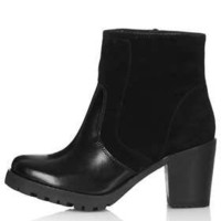 ASTROLOGY Chunky Zip Boots - New In This Week  - New In