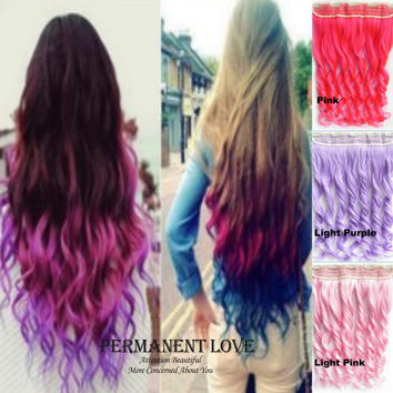 Xpression braiding hair Ombre Synthetic hair extensions, 1pcs 22inch synthetic ombre jumbo afro braids for womens colorful