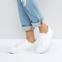 New Look Lace Up Sneaker at asos.com