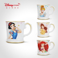 Disney Fashion Snow White Little Mermaid Belle Cinderella Mug Cup Ceramic Cup Collection