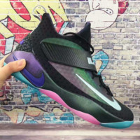 NIKE Fashion Colorful Gradient Color Trending Men Leisure Running Sports Shoes