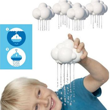 Fun Science Nature Rain Cloud Baby Bathing Furniture Preschool Educational Children Water Toys