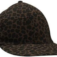D&Y Women's All Over Leopard Print Baseball Hat, Brown, One Size