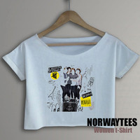 5 Seconds of Summer Shirt Perfect Symbol Printed on White  t-Shirt For Men Or Women Size TS 81