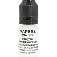 Mtn Dew Flavor Vaperz E-Liquid 10ml Bottle at Hookah Company